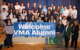 Alumni Association Welcomes Class of 2015
